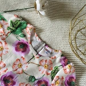 Floral LuLaRoe Amelia Dress